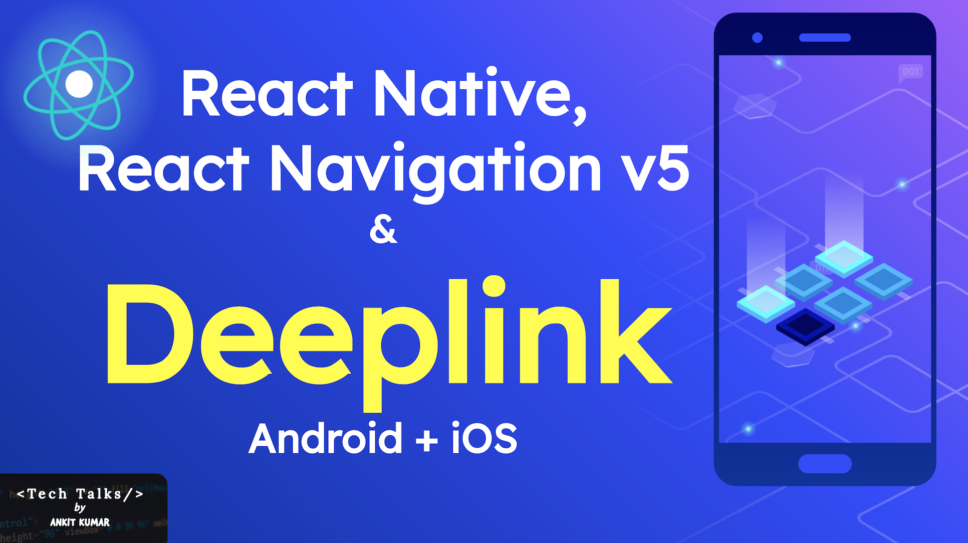 How to implement deep linking in React Native app with React Navigation v5